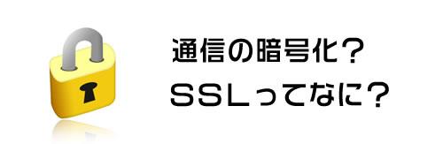 知らなきゃ危険!通信暗号化SSLのこと