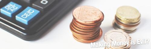 お金儲け=悪いことみたいな考え方をするのはどうかと思う。